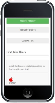 Mobile Responsive Design - Mobile driver panel