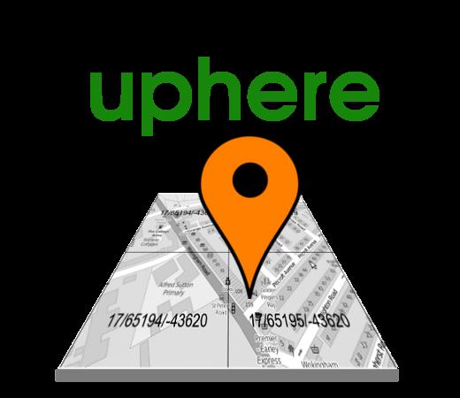 uphere logo